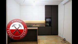 Кухня Fenix + Телевизор в ФАСАДЕ. Обзор № 70.