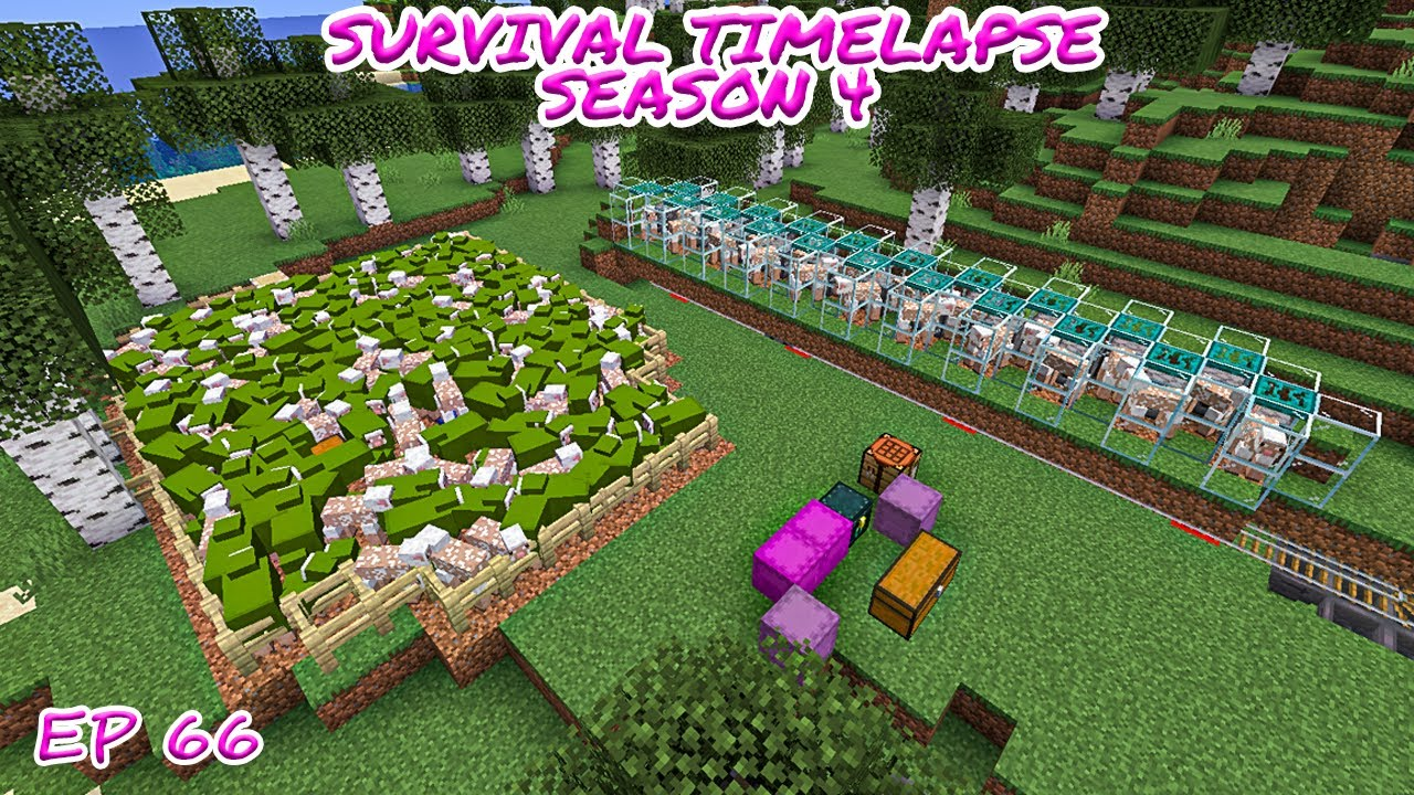 Download Preparation to Another Huge Project   Minecraft Survival Timelapse Season 4 Episode 66