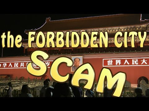 The scam in the Forbidden City - Beijing