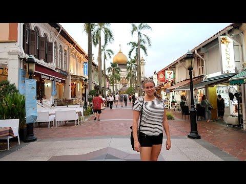 Arab street, Bugis & Clarke Quay - Singapore, Travel vlog