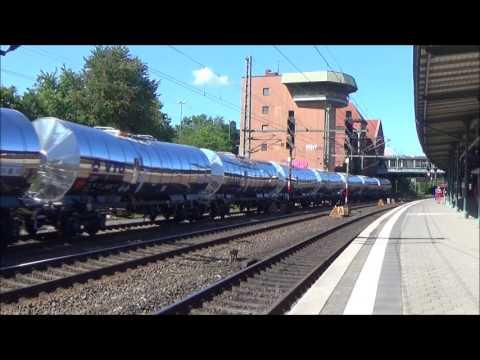 Treinen in Hamburg Harburg 23-08-2017 deel 2 van 2