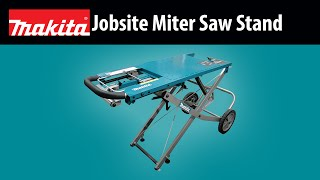 Makita Jobsite Miter Saw Stand
