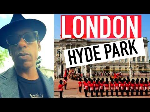 Orlando Jones Travel Diary - London - Log 1: Hyde Park
