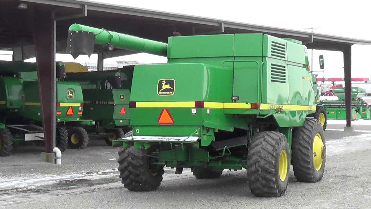John Deere 9610 Maximizer Combine For Sale Youtube