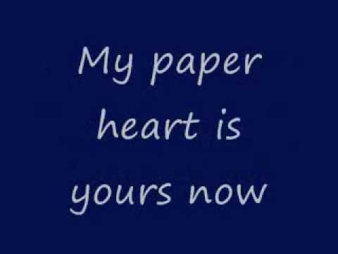 Francesca Battistelli~ My Paper Heart w/lyrics