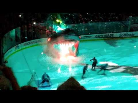 San Jose Sharks intro for Game 4 of the Stanley Cup Finals~June 6, 2016!