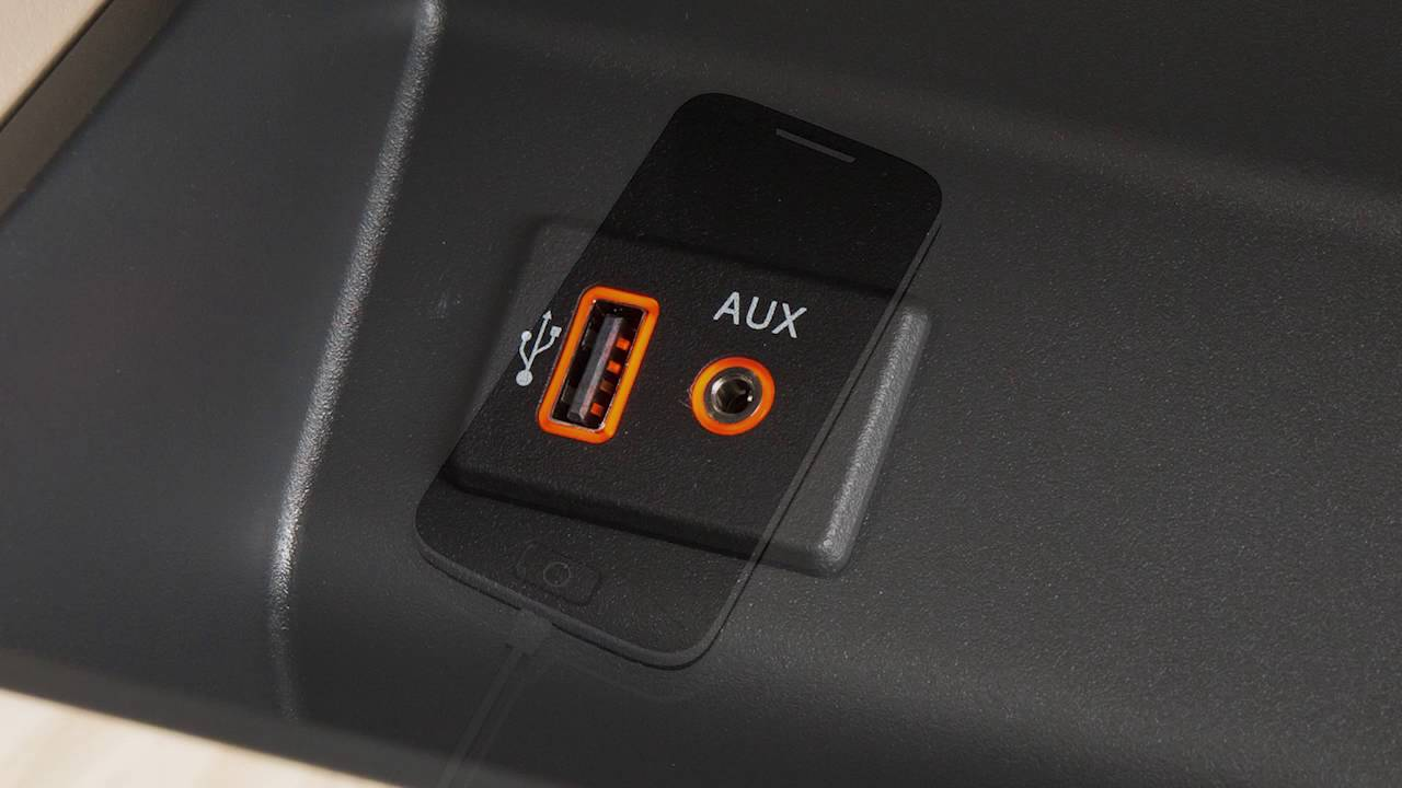 2017 Nissan Altima Usb Ipod Interface