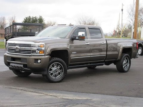 2015 Chevy 3500HD High Country Rocky Ridge Altitude ...