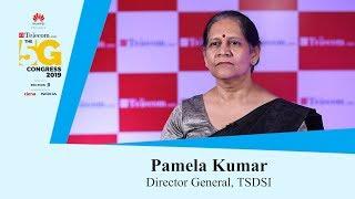 ET Telecom The 5G Congress: Pamela Kumar, Director- General, TSDSI