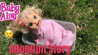 BABY ALIVE Hayleys Adoption Story baby alive videos