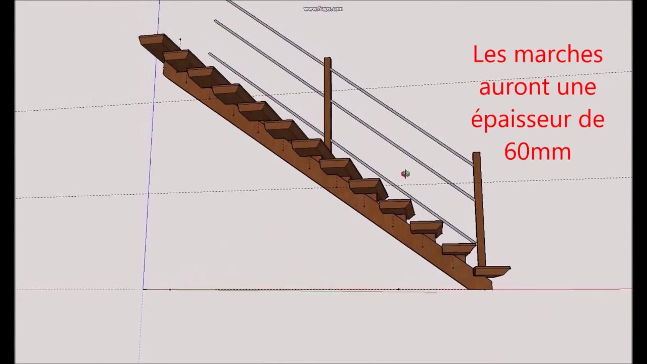 fabrication d un escalier partie 1 build an oak staircase part1