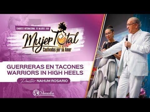 Guerreras en Tacones/ Warriors in High Heels- Nahum Rosario y Joann Rosario Condrey -Sep. 7, 2018
