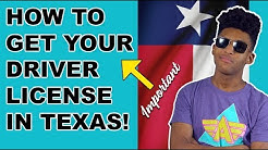 Texas Drivers License Requirements