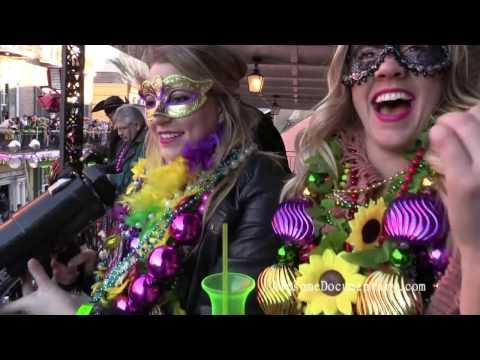 Mardi Gras French Quarter Bourbon St.