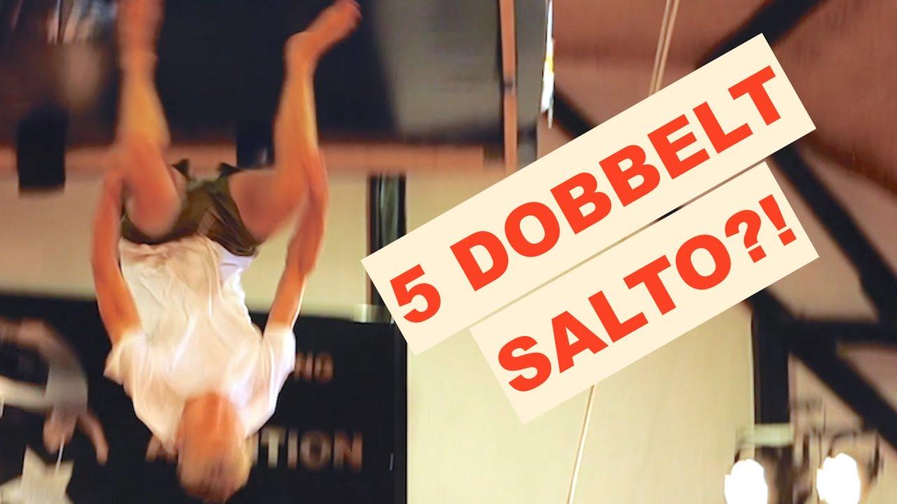 HAN LAVEDE 5 DOBBELT SALTO!? *challenge*