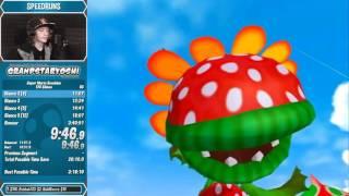 Super Mario Sunshine 120 Shines Speedrun in 3:39:05