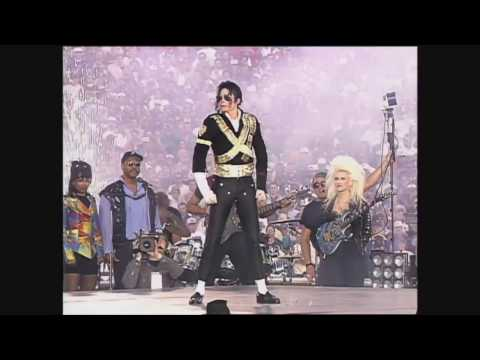 Michael Jackson Super Bowl 1993 [SNIPPETS IN HD]