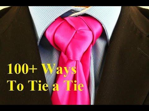 How To Tie A Tie Burami Knot - YouTube