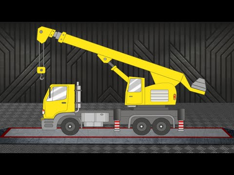 Crane | Vehicle for Children | Construction Vehicle | Learn Transports