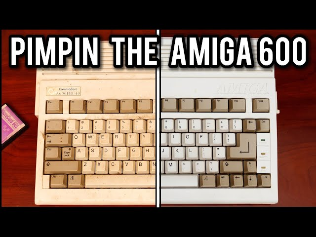 Pimpin' the Amiga 600 in 2021 | MVG