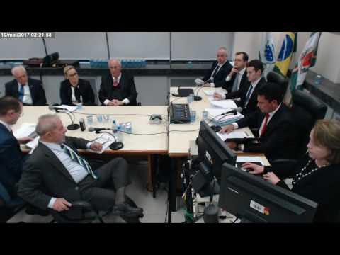 Depoimento do ex presidente Luiz Inácio Lula da Silva ao juiz Sérgio Moro (pt1)