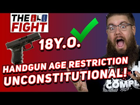 Judge Rules Handgun Age Restriction UNCONSTITUTIONAL! - Fight for Gun Rights!