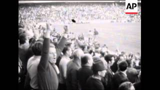 SYND STORIES 15-9-69 CZECHOSLOVAKIA AND HUNGARY DRAW 3 - 3 IN A WORLD CUP QUALIFICATION MATCH