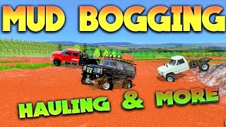 Farming Simulator 2015 - Mud Bogging & Toy Hauling