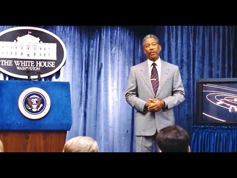 1998 - Deep Impact - The President Announces A Comet Is Headed For Earth (Morgan Freeman)