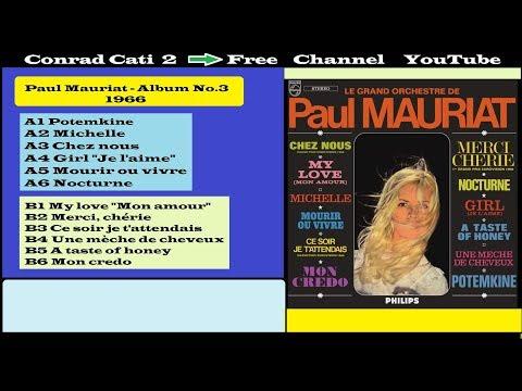 Paul Mauriat - Merci, chérie {Album n.3  - 1966 } B2