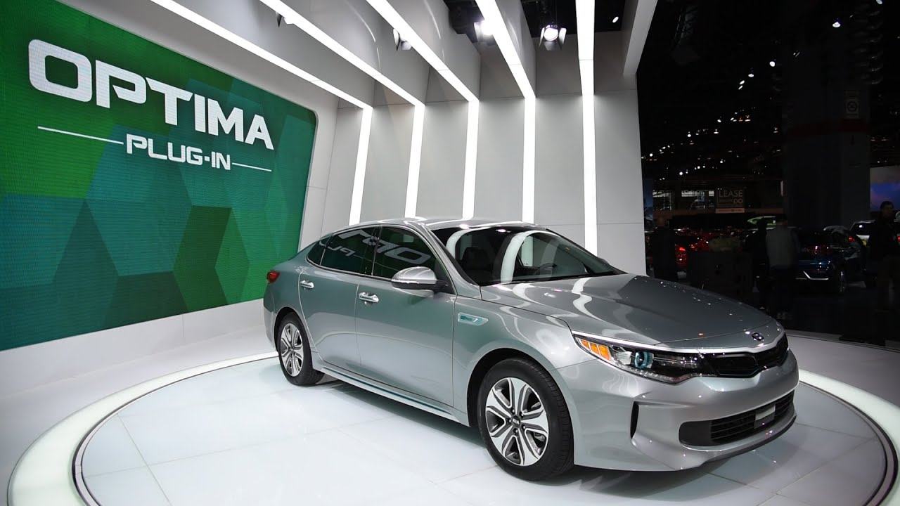 2017 Kia Optima Plug In Hybrid 2016 Chicago Auto Show