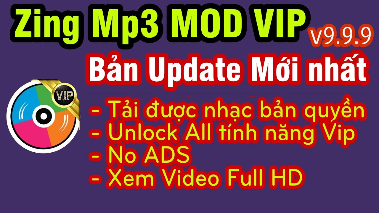 Update Zing Mp3 MOD VIP Vĩnh viễn » Tải Miễn Phí toàn bộ nhạc Bản quyền & Lossless