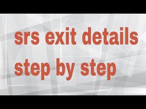 SRS revshare how to Exit for seed money step by step in hindi/urdu by vishal sharma