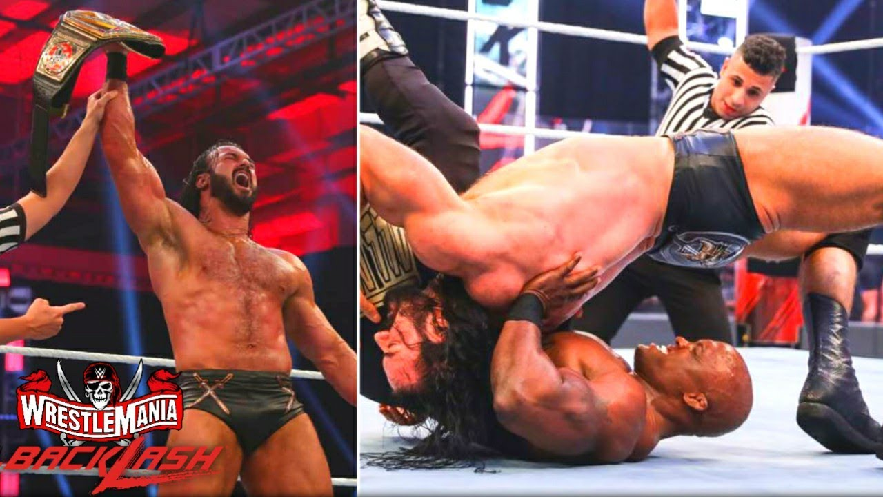 Drew McIntyre Winning At WrestleMania Backslash 2021 ! Punk Return, Hardy-Death, WWE NXT Highlights