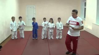 1.11.15 Открытый урок по дзюдо. Награждение Дети 5 - 6 лет. Centre Judo Kids. Feodosiya