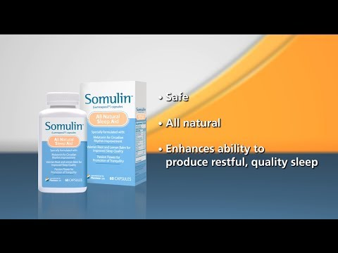 Somulin - The Most Powerful All Natural Sleep Aid Available Today!