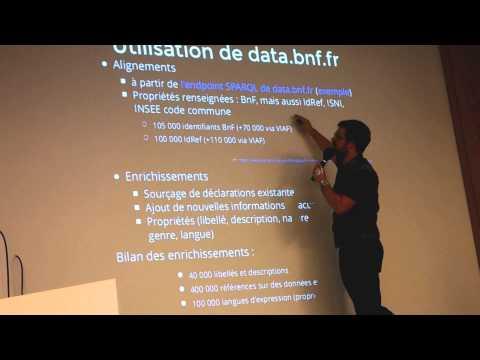 Speed data dating par  Raphaëlle Lapôtre et Benoît Deshayes à SemWeb.pro le 5 novembre 2015