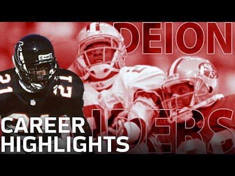 Deion Sanders Primetime Career Highlights | NFL Legends