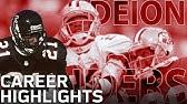 Deion Sanders Primetime Career HighlightsNFL Legends