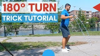 How To Do The 180 Jump Rope Trick - 4 Steps