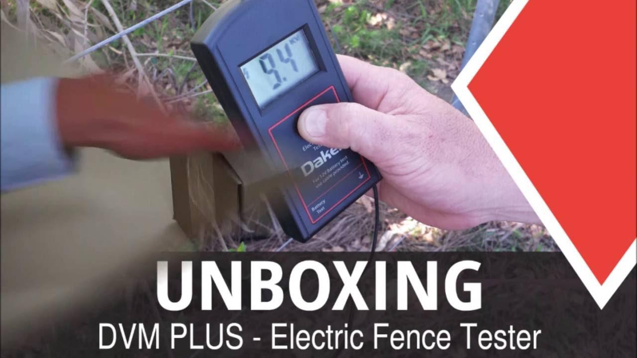 DVM PLUS - Electric fence tester