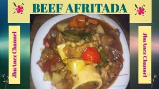 Beef Afritada   Panlasang Pinoy   Recipe #007   Pinoy Style 2020