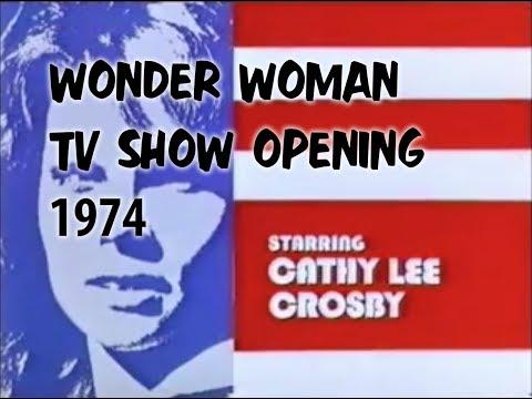 Opening Credits of 1974 Wonder Woman TV Movie Starring Cathy Lee Crosby