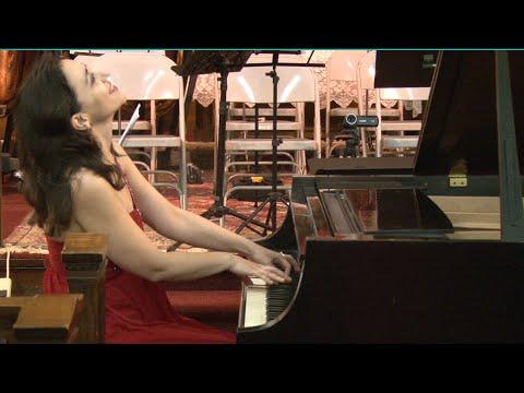 Karine Poghosyan's piano  performance in benefit  Tchaikovsky Music School's Renovation in Yerevan
