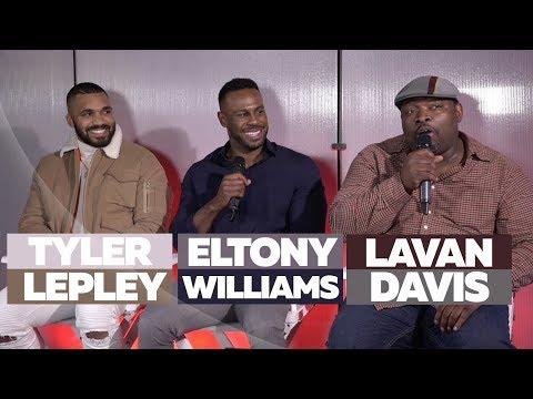 Man Talk: The Quiet Storm Ask LaVan Davis, Tyler Lepley & Eltony Williams Relationship Questions