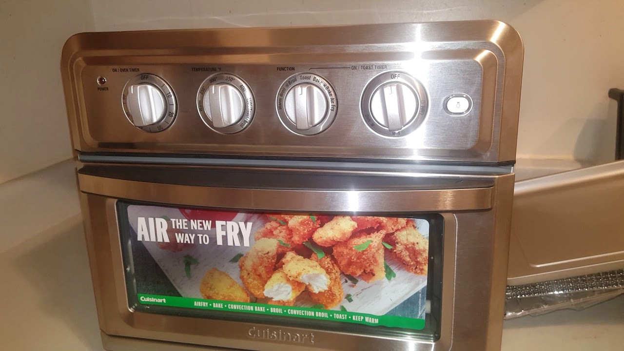 Cuisinart Air Fryer Convection Toaster Oven Recipes