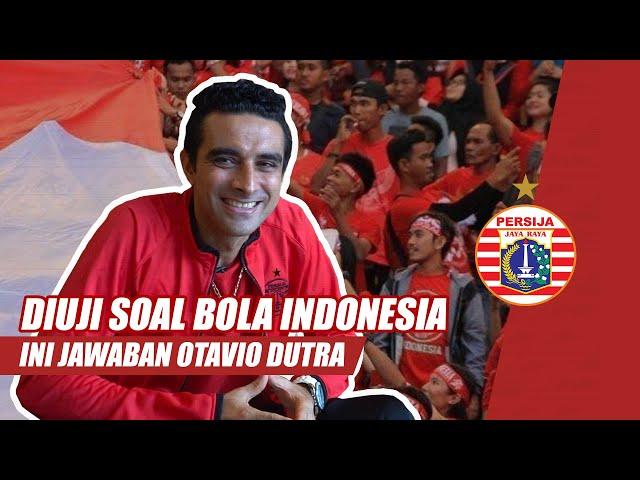 Tes Pengetahuan Dutra Soal Sepakbola Indonesia