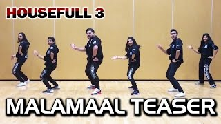 MALAMAAL Video Song | HOUSEFULL 3 | Dance Choreography Teaser - Trishool | Akshay Kumar