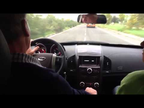 Test drive su Xuv 500 della Mahindra
