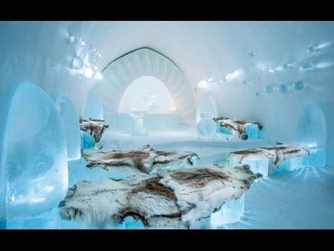 THE AMAZING ICE HOTEL IN SWEDEN, Jukkasjärvi